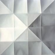 Faltbild 1-12, 2012. Öl auf Leinwand, 100 x 100 cm