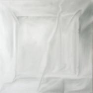 Faltenbild 1-13, 2013. Öl auf Leinwand, 100 x 100 cm