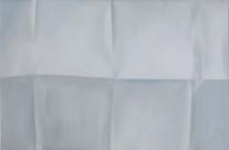 Faltbild 1-14, 2014. Öl auf Leinwand, 80 x 80 cm.