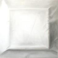Faltenbild 4-13, 2013. Öl auf Leinwand, 100 x 100 cm.