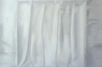 Faltenbild 6-13, 2013. Öl auf Leinwand, 100 x 100 cm.