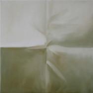 Faltkreuz 1-14, 2014. Öl auf Leinwand, 100 x 100 cm.