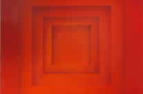 Farbraum 1-13, 2013. Acryl auf Leinwand, 100 x 100 cm.