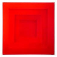 Farbraum 3-13, 2013. Acryl auf Leinwand, 100 x 100 cm.