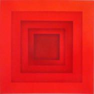 Farbraum 4-13, 2013. Acryl auf Leinwand, 100 x 100 cm.