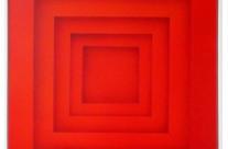 Farbraum 2-13, 2013. Acryl auf Leinwand, 100 x 100 cm.