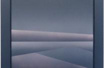 Horizont 3-02, 2002.  Acryl auf Leinwand, 50 x 50 cm.
