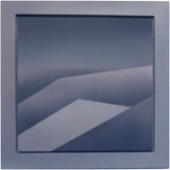 Horizont 4-02, 2002.  Acryl auf Leinwand, 50 x 50 cm.