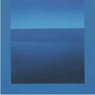 Horizont 3-03, 2003.  Acryl auf Leinwand, 80 x 80 cm.