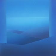 Horizont 4-03, 2003.  Acryl auf Leinwand, 80 x 80 cm.