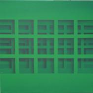 Shadow 3-07, 2007. Acryl auf Leinwand, 50 x 50 cm.