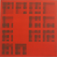 Shadow 7-07, 2007. Acryl auf Leinwand, 50 x 50 cm.