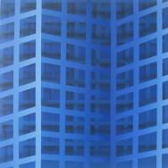 Shadow 5-09, 2009. Acryl auf Leinwand, 80 x 80 cm.