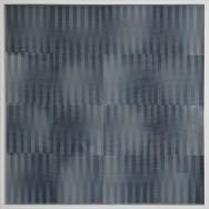 vibration 2.15.Acryl auf Holz und Gaze, 100 x 100 cm